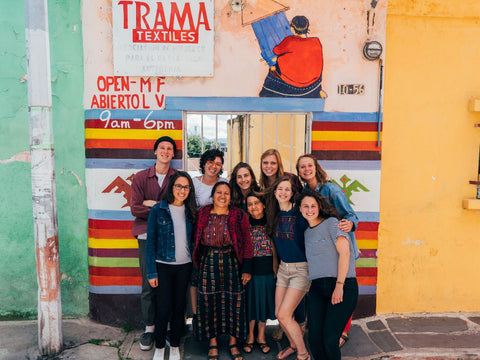 trama textiles volunteers