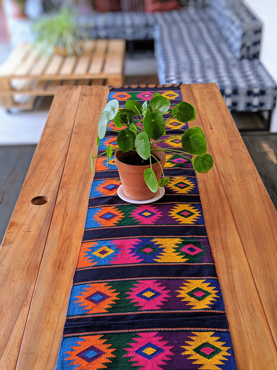 Colorful Geometric Table Runners