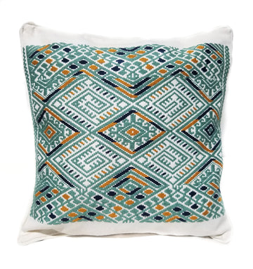 Faith Cushion Cover White
