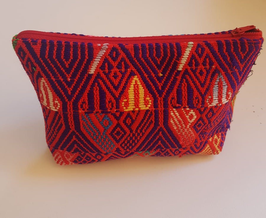 Small Quetzal Huipil Bag