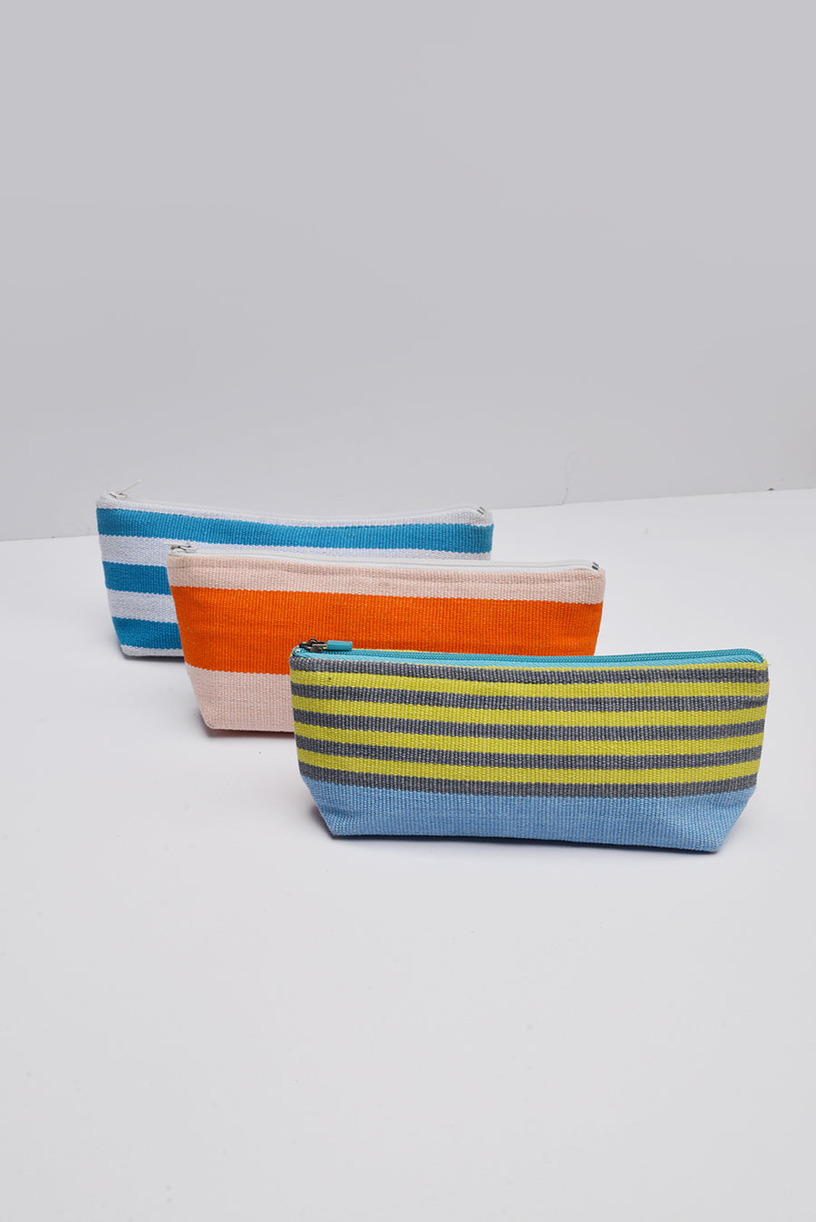 Striped Pencil Case