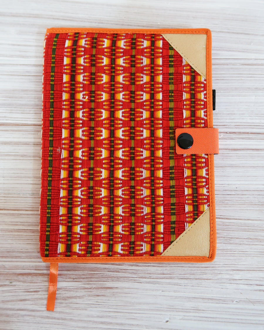 Huipil Geometric Notebook Cover