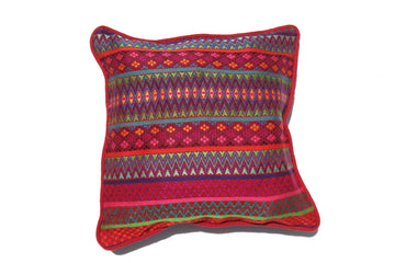 Colorful Cushion Cover, Pink