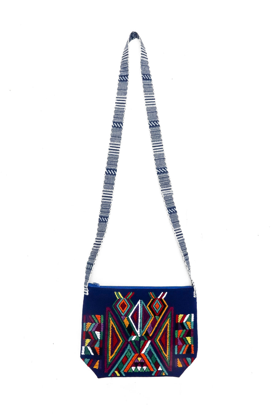 Quiché Eagle Handbag Blue