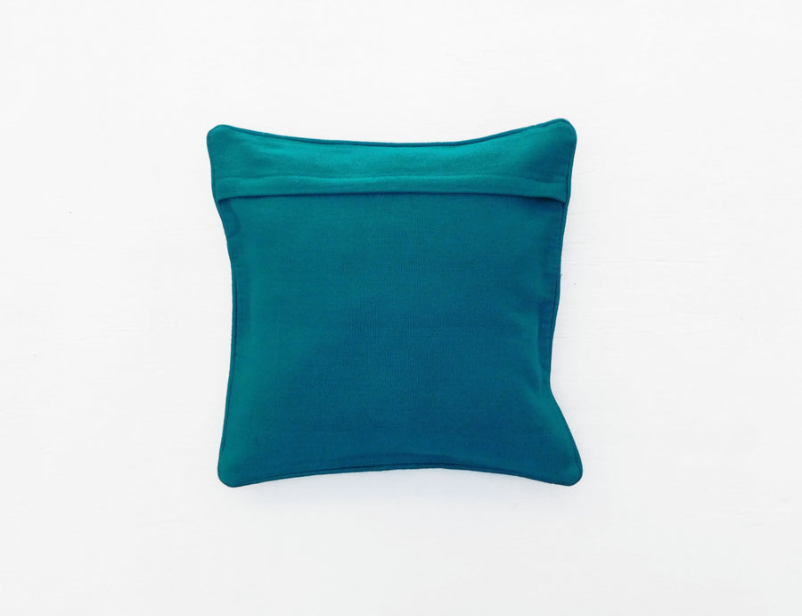 Mayan Flair Cushion Cover Teal