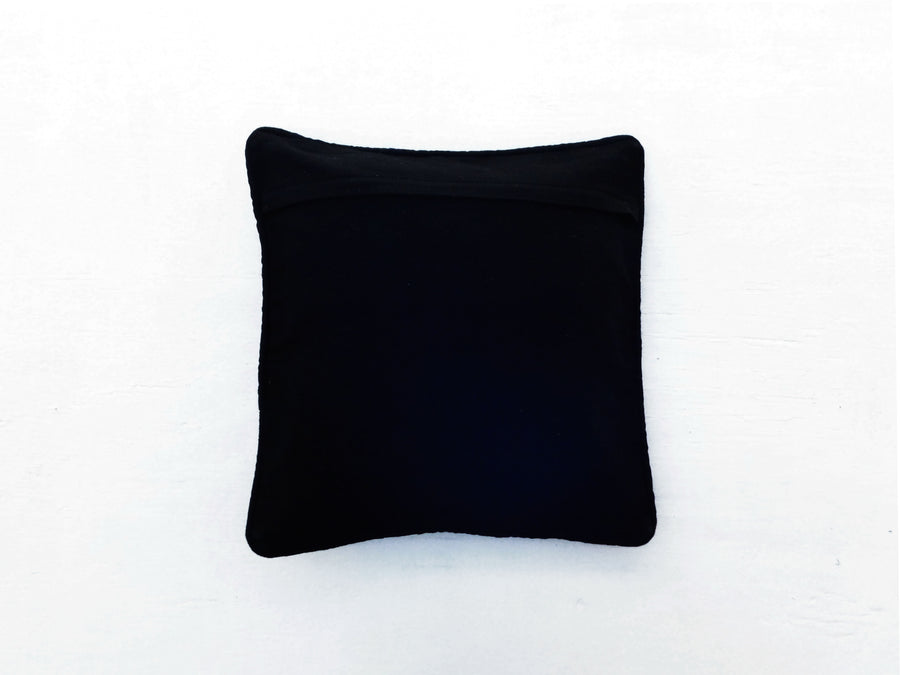 Mayan Flair Cushion Cover Black