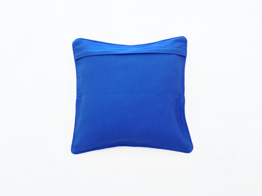 Mayan Flair Cushion Cover Blue