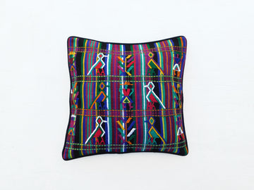 Mayan Arise Cushion Cover black