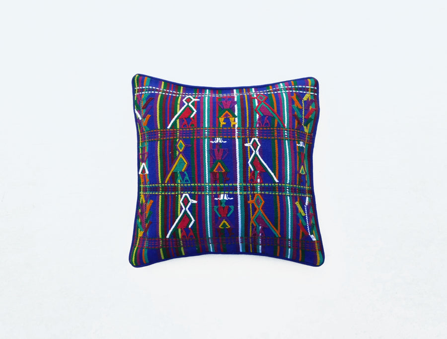 Mayan Arise Cushion Cover Blue