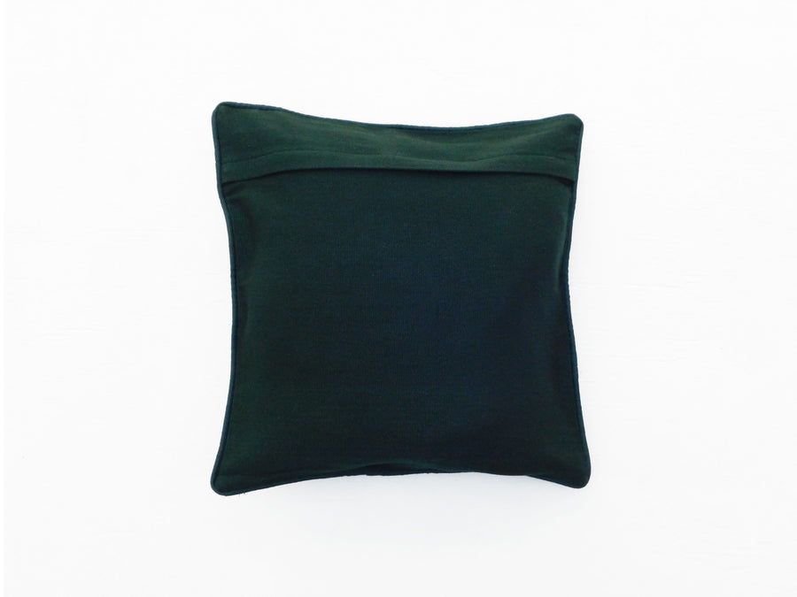 Elegant Green Gold Cushion Cover