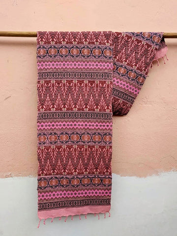 Table Runners embroidered Handwoven Mayan Design