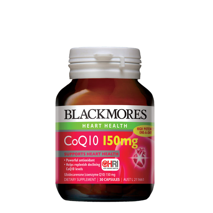 COQ10 150MG 30s - Blackmores Corporate Program by Kat Asia Pte Ltd