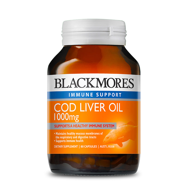 COD LIVER 1000MG 80s - Blackmores Corporate Program by Kat Asia Pte Ltd