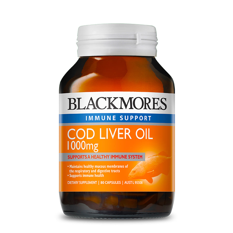 COD LIVER OIL 1000MG 80s - Blackmores Corporate Program by Kat Asia Pte Ltd