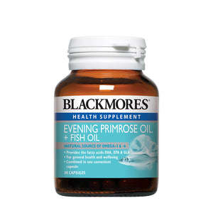 EVENING PRIMROSE OIL + FISH OIL 1000 30s - Blackmores Corporate Program by Kat Asia Pte Ltd