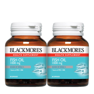 FISH OIL 1000 30s x 2 - Blackmores Corporate Program by Kat Asia Pte Ltd
