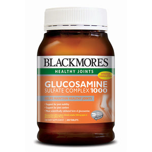 GLUCOSAMINE SULFATE COMPLEX 1000 (AMB) 200s - Blackmores Corporate Program by Kat Asia Pte Ltd