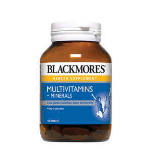 MULTIVITAMINS + MINERALS 120s - Blackmores Corporate Program by Kat Asia Pte Ltd