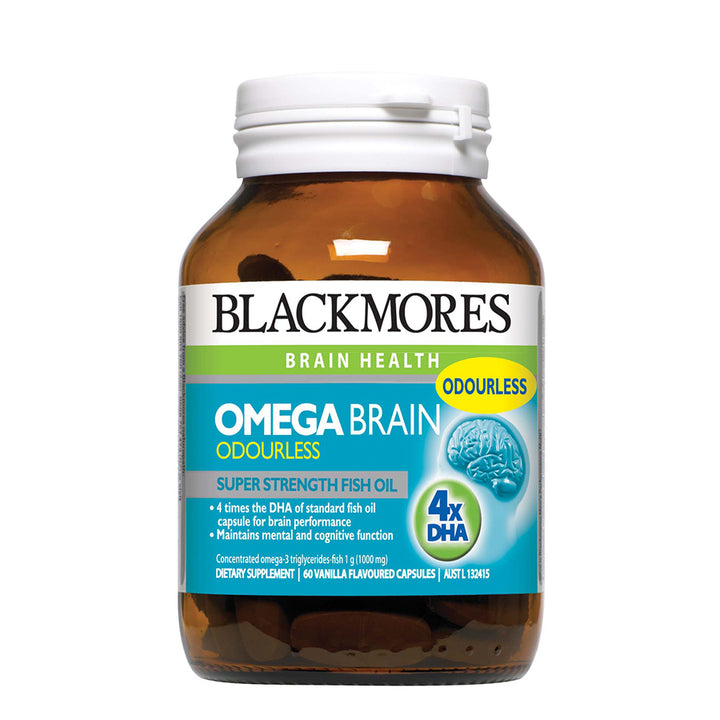 OMEGA BRAIN 1000 60s - Blackmores Corporate Program by Kat Asia Pte Ltd