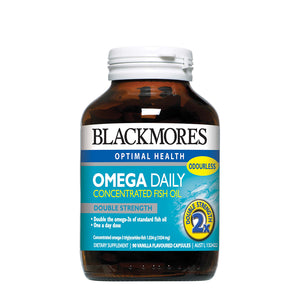 OMEGA DAILY CAP 90s - Blackmores Corporate Program by Kat Asia Pte Ltd