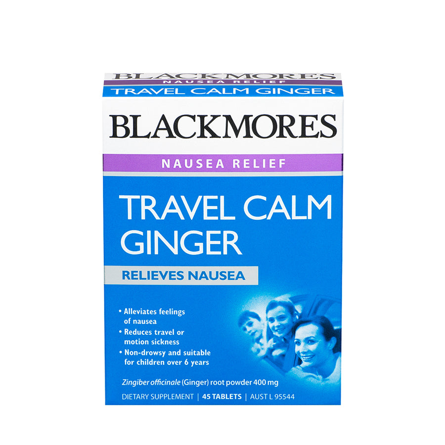 TRAVEL CALM GINGER 45s - Blackmores Corporate Program by Kat Asia Pte Ltd