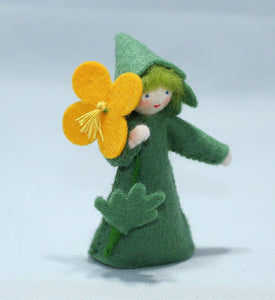 Celandine Fairy | Waldorf Doll Shop | Eco Flower Fairies | Handmade by Ambrosius
