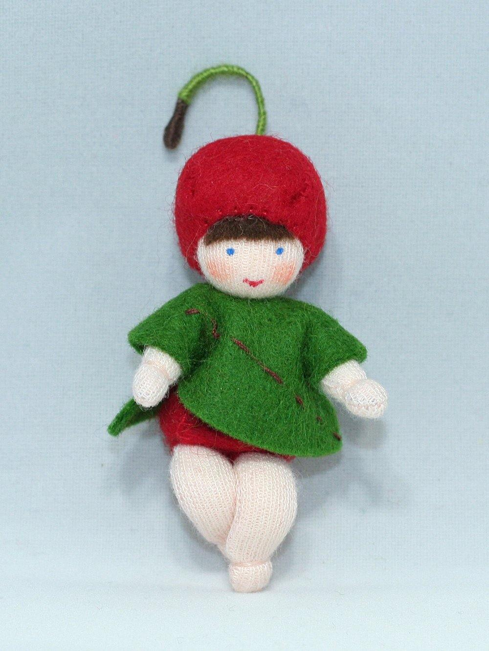 Cherry Baby | Waldorf Doll Shop | Eco Flower Fairies