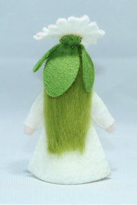 Common Daisy Fairy - Eco Flower Fairies, handmade wool felt Waldorf dolls