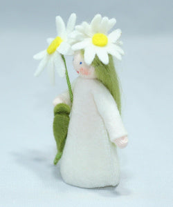 Desert Star Fairy - Eco Flower Fairies, handmade wool felt Waldorf dolls