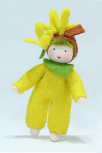 Easter Tree Baby - Eco Flower Fairies, handmade wool felt Waldorf dolls