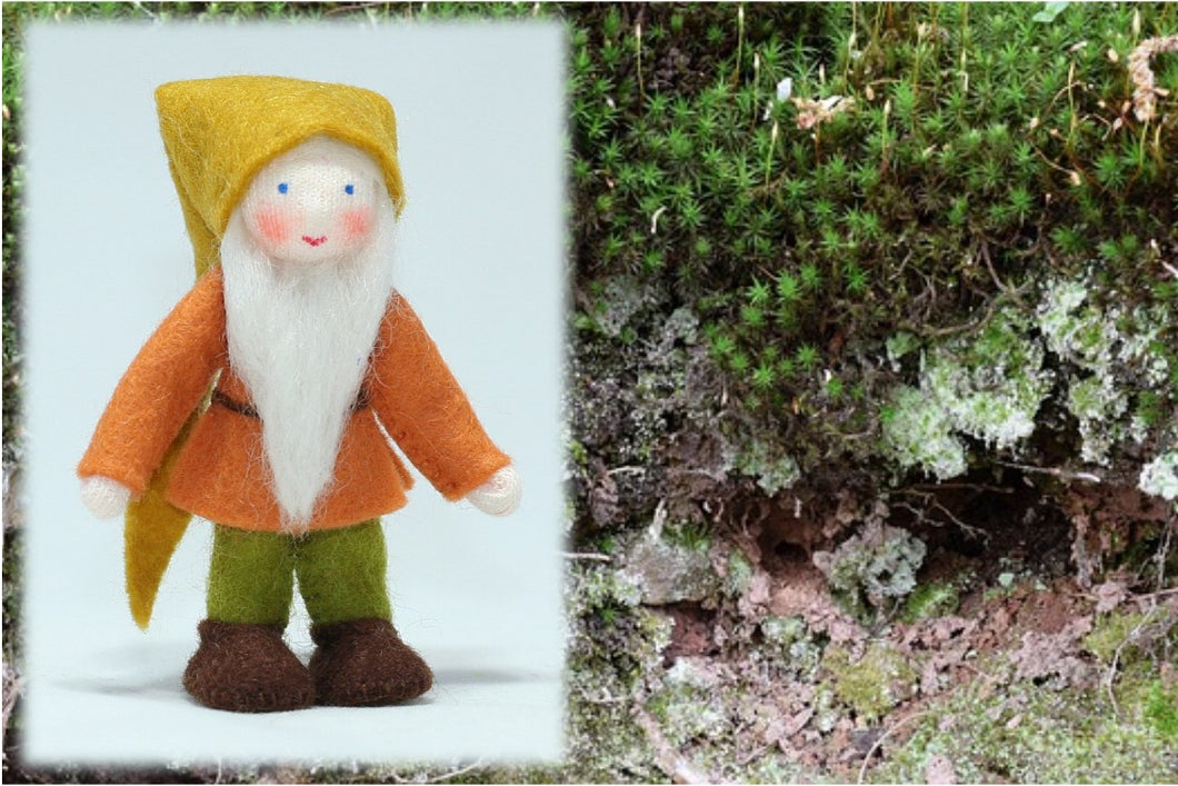 Forest Gnome | Waldorf Doll Shop | Eco Flower Fairies