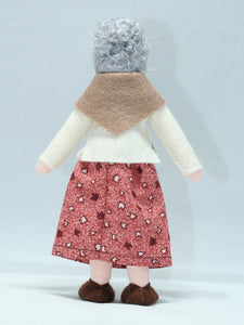 Waldorf Grandmother Doll (fair skin) | Waldorf Doll Shop | Eco Flower Fairies
