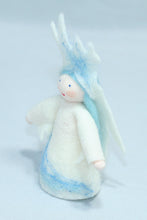 Ice Princess - Eco Flower Fairies, handmade wool felt Waldorf dolls