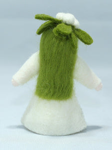 Mistletoe Fairy - Eco Flower Fairies, handmade wool felt Waldorf dolls