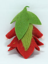 Maple Leaf Fairy - Eco Flower Fairies, handmade wool felt Waldorf dolls