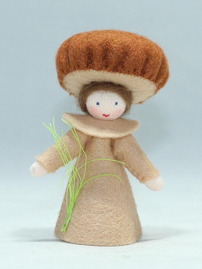 Mushroom Fairy | Waldorf Doll Shop | Eco Flower Fairies