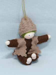 Pine Cone Baby | Waldorf Doll Shop | Eco Flower Fairies | Handmade by Ambrosius