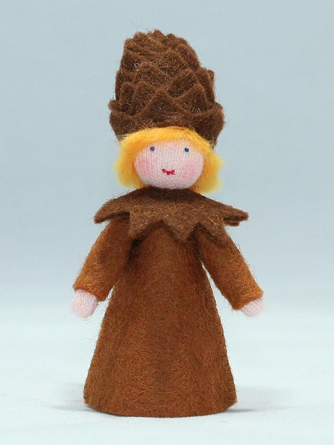 Pine Cone Prince (fair skin) | Waldorf Doll Shop | Eco Flower Fairies