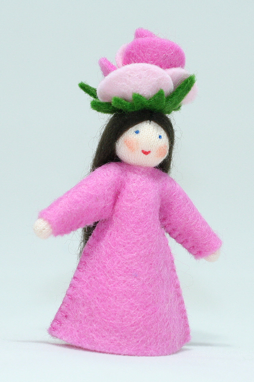 Rose Fairy | Waldorf Doll Shop | Eco Flower Fairies | Handmade by Ambrosius