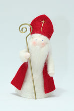 Saint Nicholas - Eco Flower Fairies, handmade wool felt Waldorf dolls