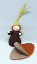 Seedling Baby with Seed Pod | Waldorf Doll Shop | Eco Flower Fairies