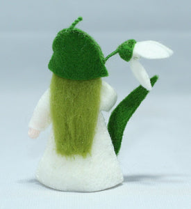 Snowdrop Fairy | Waldorf Doll Shop | Eco Flower Fairies | Handmade by Ambrosius