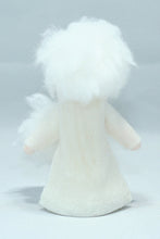 Snow Girl - Eco Flower Fairies, handmade wool felt Waldorf