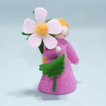 Sweet Briar Fairy - Eco Flower Fairies, handmade wool felt Waldorf doll