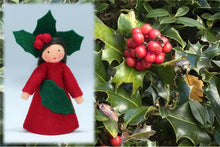 Holly Berry Fairy | Waldorf Doll Shop | Eco Flower Fairies