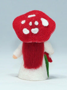 Fly Agaric Fairy | Waldorf Doll Shop | Eco Flower Fairies | Handmade by Ambrosius