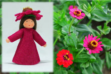 Zinnia Fairy | Waldorf Doll Shop | Eco Flower Fairies