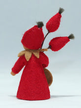 Rose Hips Fairy | Waldorf Doll Shop | Eco Flower Fairies | Handmade by Ambrosius