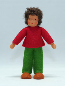 Waldorf Boy Doll (medium skin) | Waldorf Doll Shop | Eco Flower Fairies