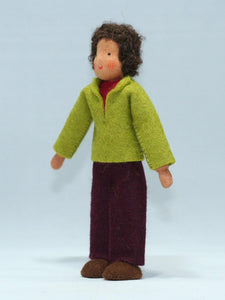 Waldorf Father Doll (medium skin) | Waldorf Doll Shop | Eco Flower Fairies